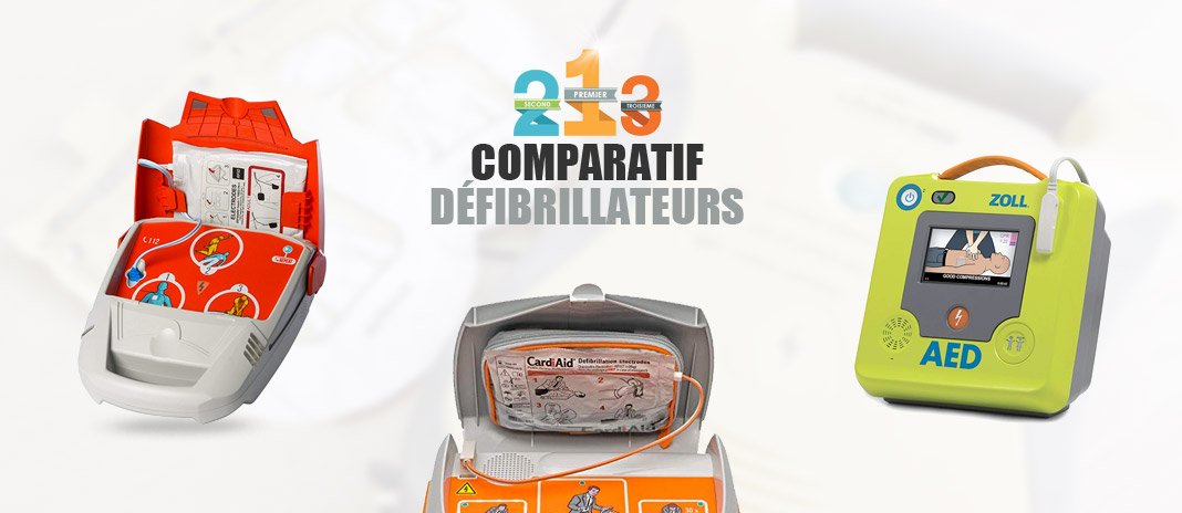 comparatif defibrillateurs