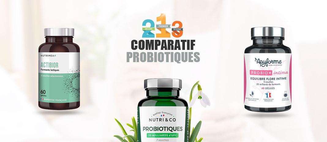 comparatif probiotiques