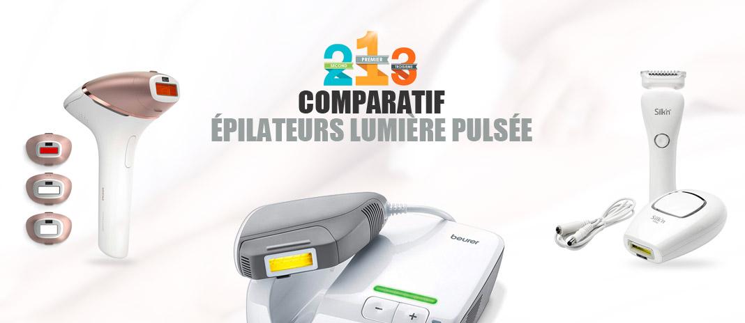 meilleur epilateur lumiere pulsee