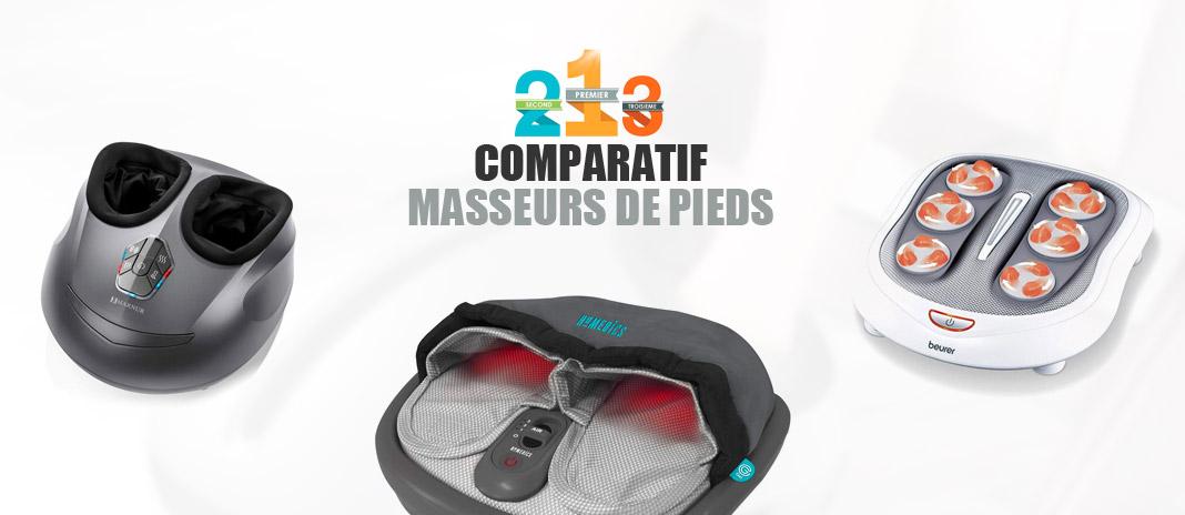 meilleur appareil massage pieds