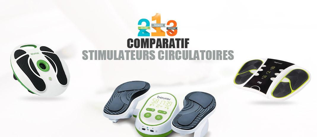 meilleur stimulateur circulatoire