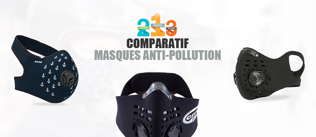 masque pollution charbon