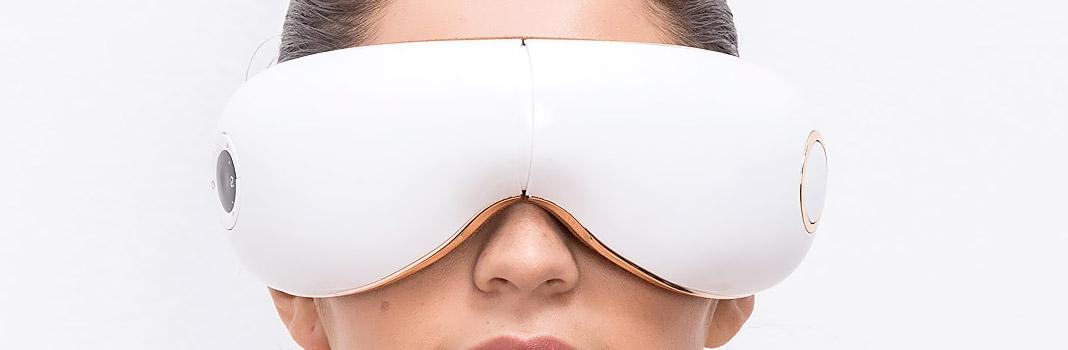 masque massage yeux